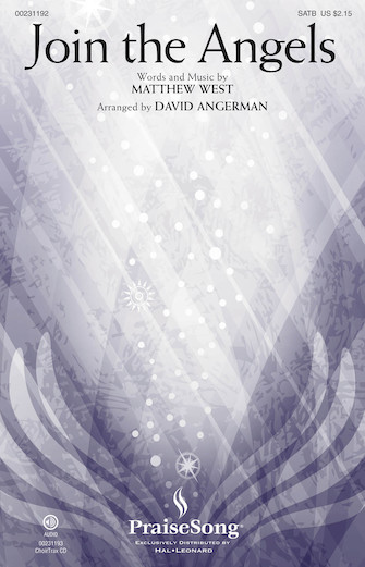 Join the Angels : SATB : David Angerman : Matthew West : Matthew West : Sheet Music : 00231192 : 888680675608