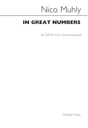 In Great Numbers : SATB : Nico Muhly : Nico Muhly : Sheet Music : 00232492 : 888680701727