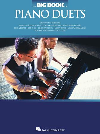 Product Cover for The Big Book of Piano Duets