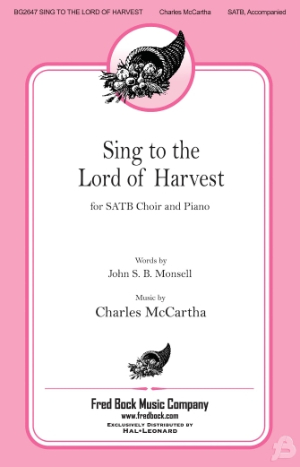 Product Cover for Sing to the Lord of Harvest