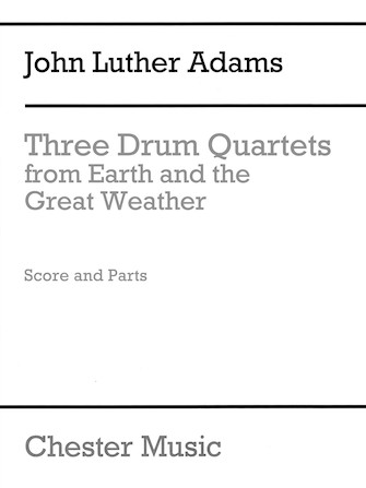 Product Cover for Three Drum Quartets from Earth and the Great Weather