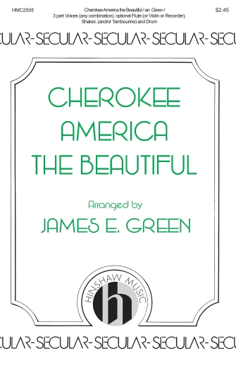 Product Cover for Cherokee America the Beautiful