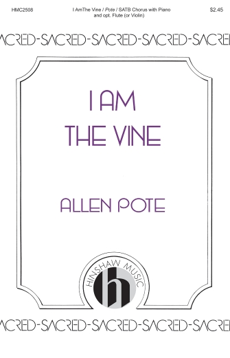 Product Cover for I Am the Vine