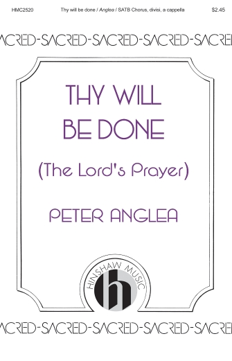 Product Cover for Thy Will Be Done