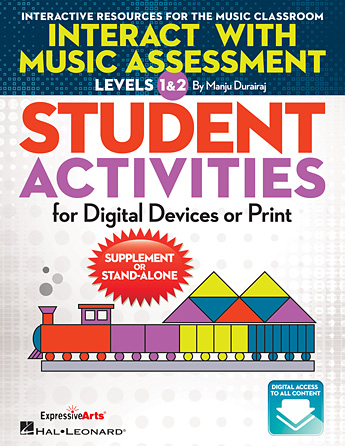Product Cover for Interact with Music Assessment STUDENT ACTIVITIES