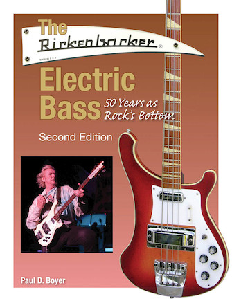 Product Cover for The Rickenbacker Electric Bass – Second Edition