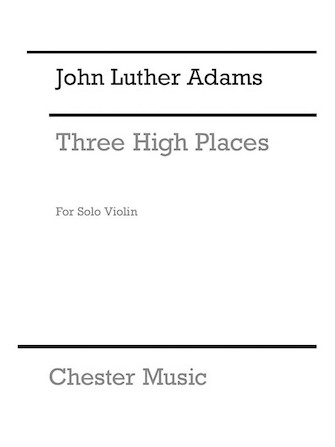 Product Cover for Three High Places