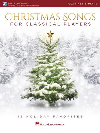 Product Cover for Christmas Songs for Classical Players – Clarinet and Piano