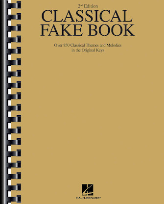 Product Cover for Classical Fake Book – 2nd Edition