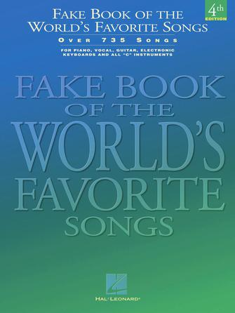 Product Cover for Fake Book of the World's Favorite Songs – 4th Edition
