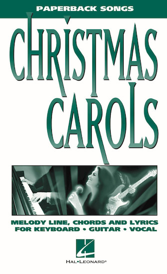 Product Cover for Christmas Carols – Paperback Songs