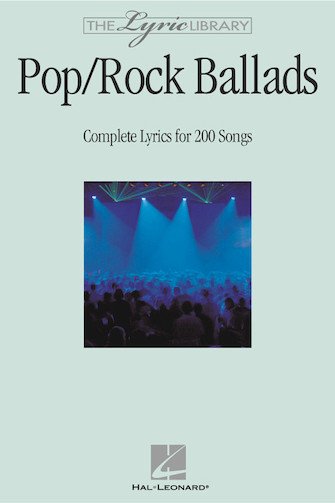 Product Cover for The Lyric Library: Pop/Rock Ballads