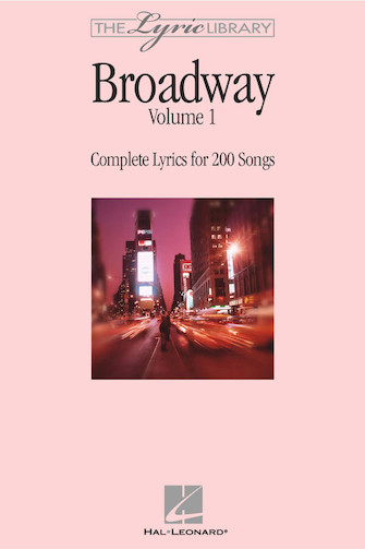 Product Cover for The Lyric Library: Broadway Volume I