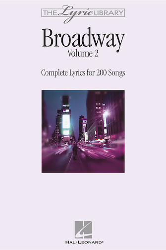 Product Cover for The Lyric Library: Broadway Volume II
