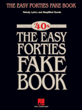 Product Cover for The Easy Forties Fake Book