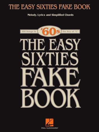 Product Cover for The Easy Sixties Fake Book