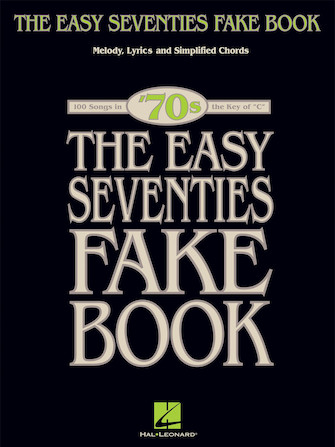 Product Cover for The Easy Seventies Fake Book