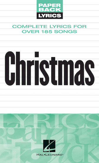 Product Cover for Christmas Lyrics