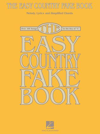 Product Cover for The Easy Country Fake Book
