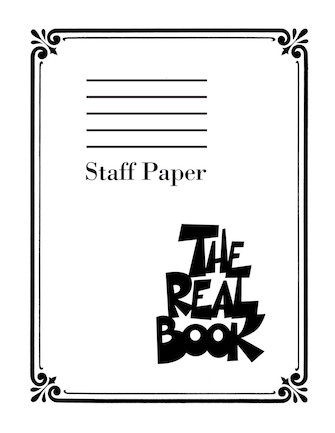 Product Cover for The Real Book – Staff Paper