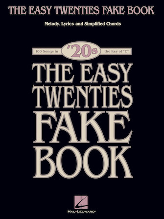 Product Cover for The Easy Twenties Fake Book