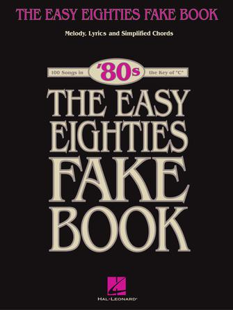 Product Cover for The Easy Eighties Fake Book