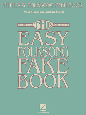 Product Cover for The Easy Folksong Fake Book