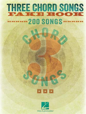 Product Cover for Three Chord Songs Fake Book