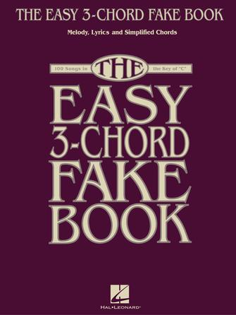 Product Cover for The Easy 3-Chord Fake Book