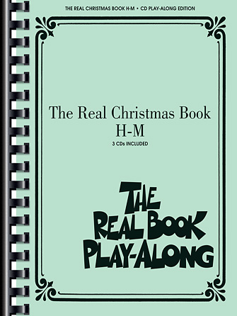 Product Cover for The Real Christmas Book Play-Along, Vol. H-M