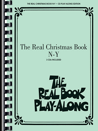 Product Cover for The Real Christmas Book Play-Along, Vol. N-Y