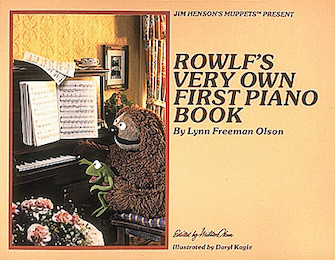 Product Cover for Rowlf's Very Own First Piano Book