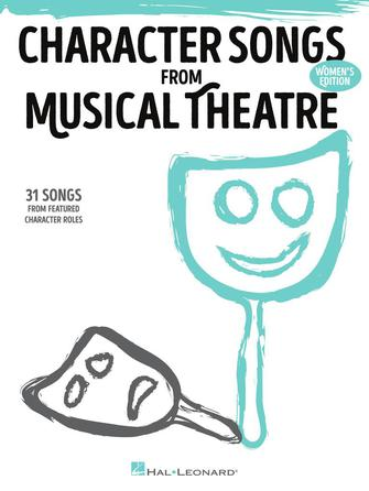 Product Cover for Character Songs from Musical Theatre – Women's Edition