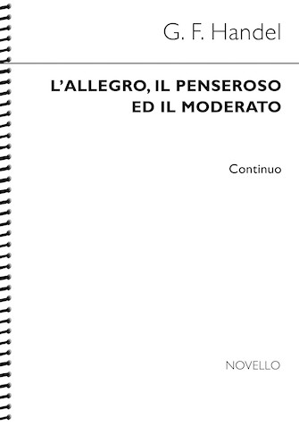 Product Cover for L'allegro, Il Penseroso Ed Il Moderato (Continuo)
