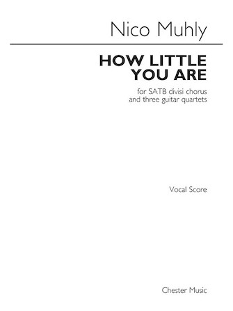Product Cover for How Little You Are