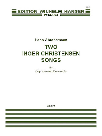 Product Cover for Two Inger Christensen Songs
