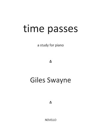 Product Cover for Time Passes – A Study for Piano