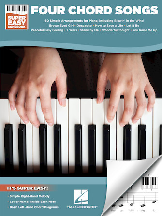 Four Chord Songs – Super Easy Songbook