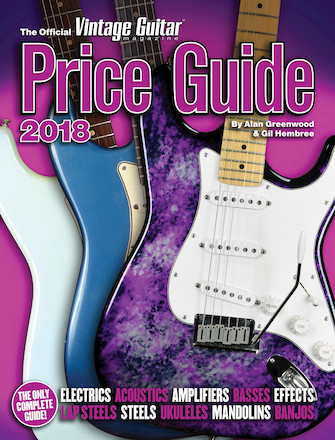 Product Cover for The Official Vintage Guitar Magazine Price Guide 2018