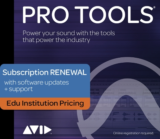 Product Cover for Pro Tools – 1-Year Subscription Renewal