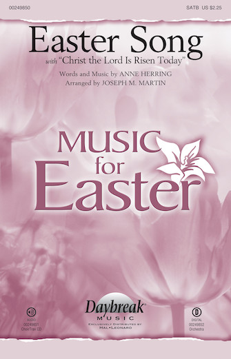 Product Cover for Easter Song