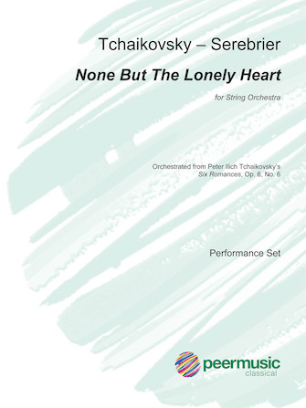 Product Cover for None But the Lonely Heart