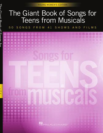 Product Cover for The Giant Book of Songs for Teens from Musicals – Young Women's Edition