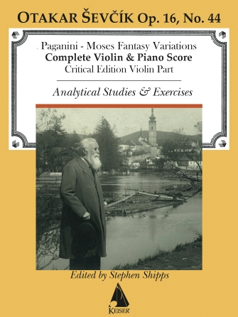Product Cover for Moses Fantasy Variations (Paganini)