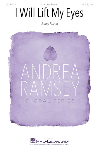 I Will Lift My Eyes : SSA : Andrea Ramsey : Sheet Music : 00254274 : 888680720483