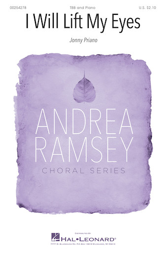 I Will Lift My Eyes : TBB : Andrea Ramsey : Sheet Music : 00254278 : 888680720520