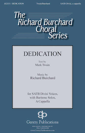 Product Cover for Dedication
