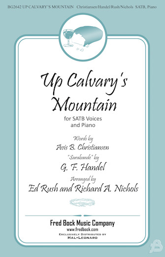 Product Cover for Up Calvary's Mountain