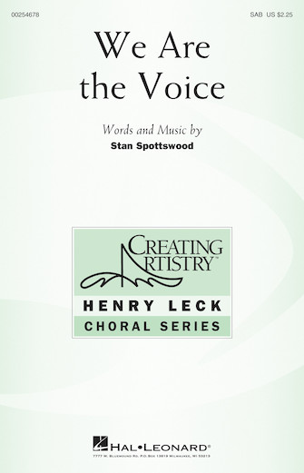 Product Cover for We Are the Voice