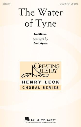 The Water of Tyne : Unison : Paul Ayres :  1 CD : 00255627 : 888680722920
